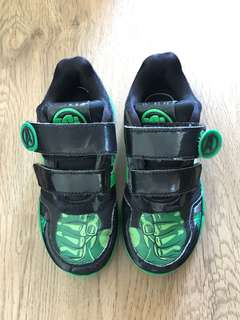 Marvel incredible hulk adidas shoes