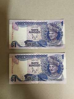 Old malaysia notes