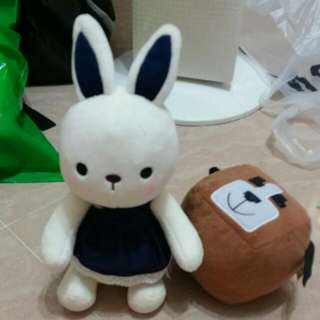 全新可愛小兔公仔