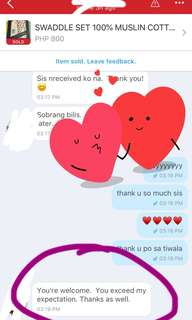 FEEDBACKS..THANK U PO♥️♥️♥️