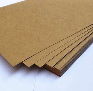 350gsm Brown Kraft paper