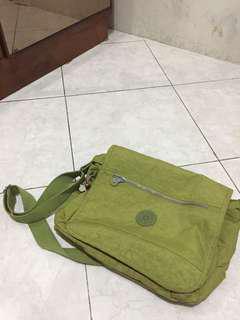 Kipling green bag