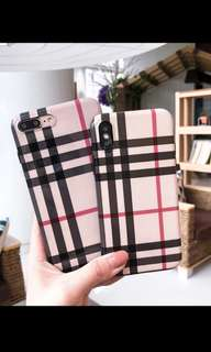 Burberry* iPhone Case