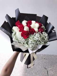 Kenya Rose Bouquet/ flower bouquet