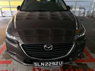 $300 weekly Mazda3 for rent