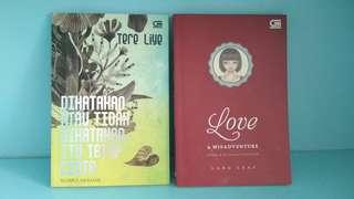 Buku puisi Lang Leav Love & Misadventure (bahasa indonesia), Tere Liye Dikatakan Atau Tidak Dikatakan Itu Tetap Cinta