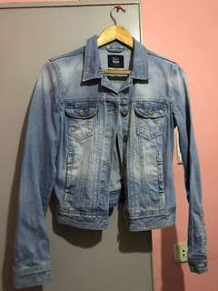 Bershka Light Wash Denim Jacket
