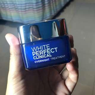 Cream White Perfect Clinical Overnight