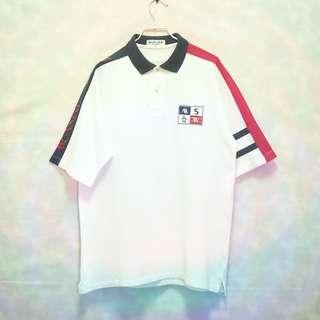 三件7折🎊 Munsingwear 企鵝牌 Polo衫 白藍紅 大電繡logo 極稀有 日本製 老品 復古 古著 Vintage