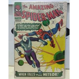 🚚 Amazing Spider-man Vol. 1 #36 - 1st appearance of the Looter