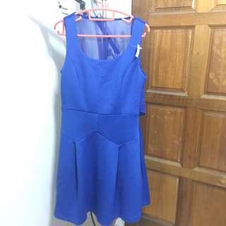 Blue cocktail dress BNWT