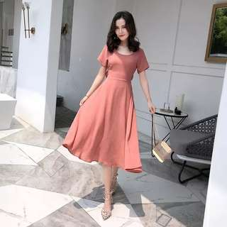 Basic Hollow Out Dress