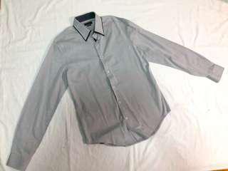 Zara Man Gray Long Sleeves