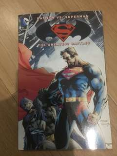 Batman vs superman comic
