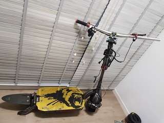 Dualtron ultra body frame with only front motor