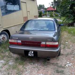 Toyota corolla 1.6 auto