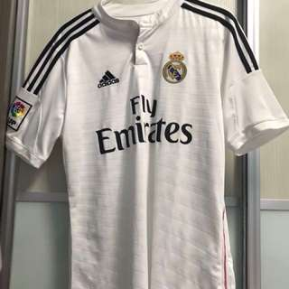 Real Madrid Jersey 2014/15 with name sets