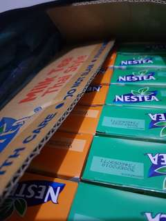 Nestlé Nestea Milk Tea (Wintermelon and Thai)