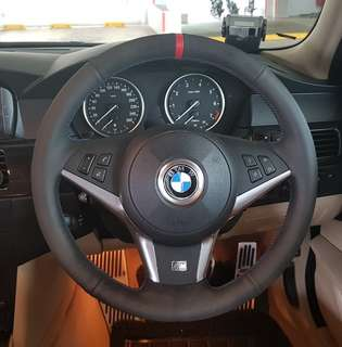 BMW E60 sports steering