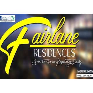 2 Bedroom unit for sale at Fairlane Residences in Pasig near Capitol Commons