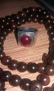 Cincin merah delima(can scan the ring for those who knows)