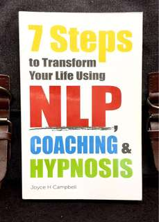 《New Book Condition + How To Get Off Your Backside & Live Your Life》Joyce H. Campbell - 7 STEPS TO TRANSFORM YOUR LIFE USING NLP COACHING & HYPNOSIS