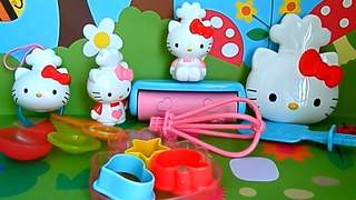 Hello Kitty Set of 4/ McDonald's Happy Meal 2014 Collection Toys