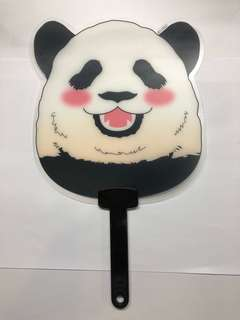 Handheld Fan: Plastic Panda Fan