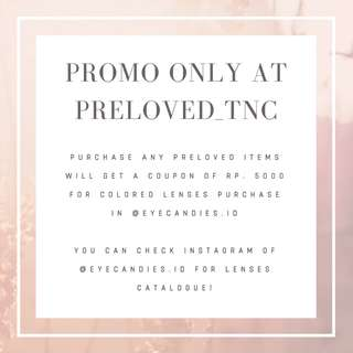 Promo at Preloved_tnc