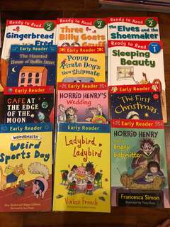 🚚 12X Early Reader books