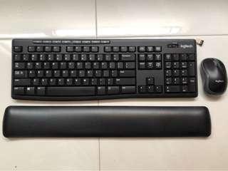 Logitech combo keyboard - free 3M wrist rest