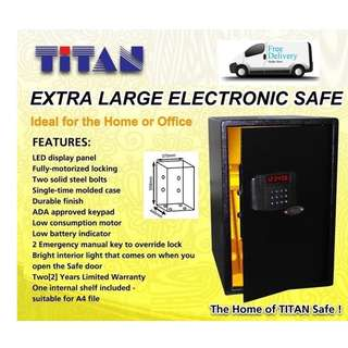 TITAN D5637 XL Safe on Sales @ FairPrice Xtra Outlets! ~ Free Delivery!