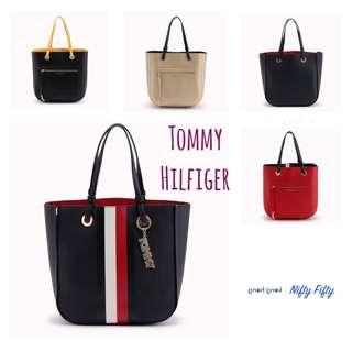 (日本代購7月30-8月2) 日本 Tommy Hilfiger 布袋 側咩袋