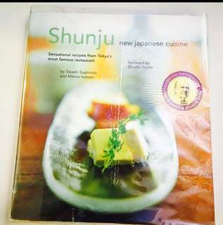Shunju New Japanese Cuisine Cookbook Recipe