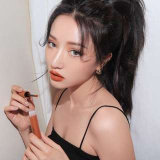 (INSTOCK) 3CE SOFT LIP LACQUER #Tawny Red