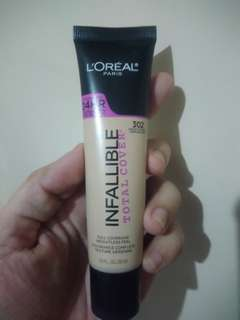 Loreal Infallible total cover