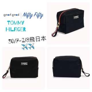 (日本代購7月30-8月2) 日本 Tommy Hilfiger 化妝袋 實用袋