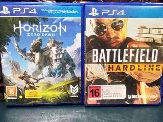 ps4 games Horizon Zero dawn