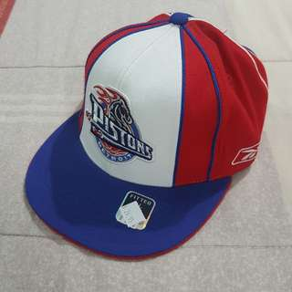 Legit Brand New Without Tags Reebok NBA Detroit Pistons Cap Hat 7 1/8
