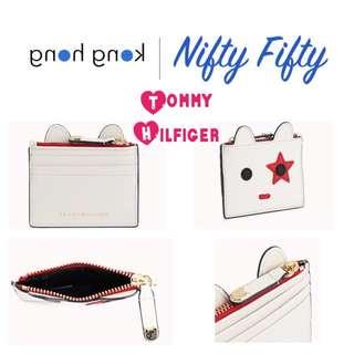 (日本代購7月30-8月2) 日本 Tommy Hilfiger 可愛 白色 散紙包 卡套