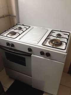 Dapur gas + oven
