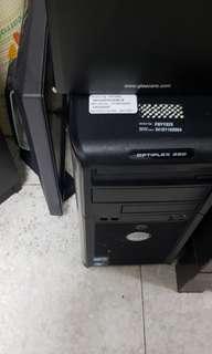 DELL Desktop Computer Set OPTIPLEX 380