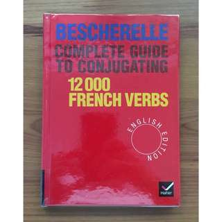 Bescherelle 12,000 Verbs. Complete Guide to Conjugating Verbs