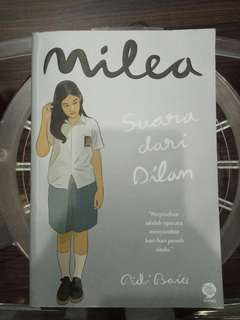 (ORIGINAL) Novel Milea by Pidi Baiq + Pembatas Buku
