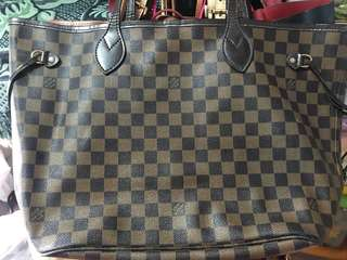 LV Neverfull MM Authentic Grade
