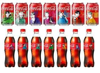 🇰🇷BTS限量版樽裝/罐裝可口可樂