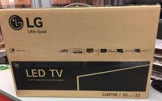 LG LED TV 22 全新 idtv