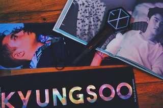 Do Kyungsoo CLOTH BANNER SLOGAN