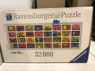 32,000 pieces masterpieces Ravensburger puzzle