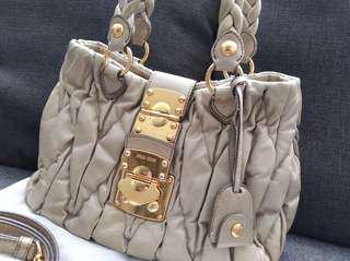Authentic Miu Miu Handbag